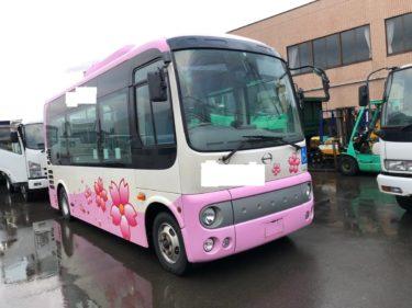 路線バス 日野 ポンチョ 平成24年式 走行71万キロ