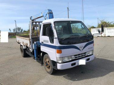 トヨタ TOYOTA トヨエース 3段クレーン 4WD 車検3年9月