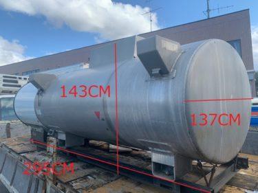 TANK LORRY タンクローリー 積算式ガソリン量器